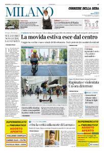 Corriere della Sera Milano – 11 agosto 2019