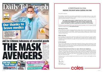 The Daily Telegraph (Sydney) – April 01, 2020