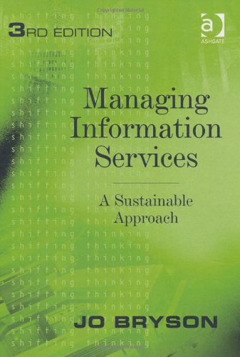 Managing Information Services, 3 edition