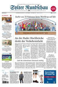 Sylter Rundschau - 30. September 2017