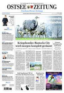 Ostsee Zeitung Wolgast - 26. März 2019