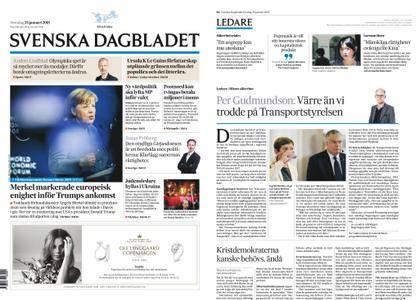 Svenska Dagbladet – 25 januari 2018