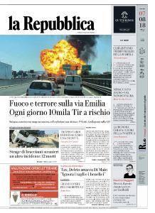 la Repubblica - 7 Agosto 2018