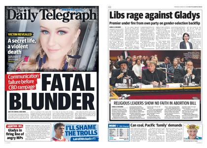 The Daily Telegraph (Sydney) – August 15, 2019
