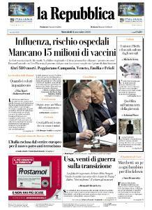 la Repubblica - 11 Novembre 2020
