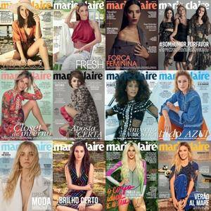Marie Claire - Brazil - Full Year 2017 Collection - Issues 310 a 321