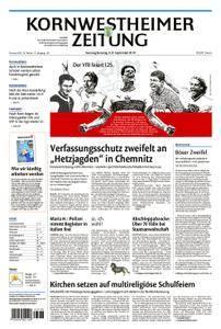 Kornwestheimer Zeitung - 08. September 2018