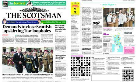 The Scotsman – August 09, 2018