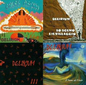 Delirium - 4 Studio Albums (1971-2009) (Repost)
