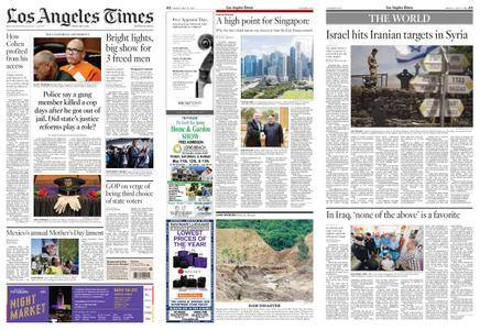 Los Angeles Times – May 11, 2018