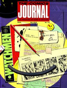 Comics Journal 116 1987-07 Watchmen, Moore & Gibbons