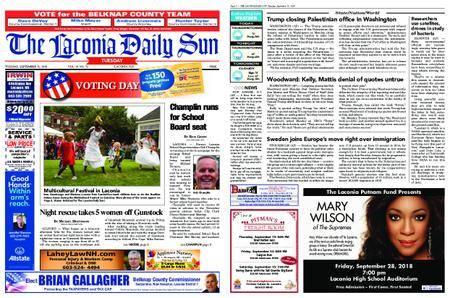 The Laconia Daily Sun – September 11, 2018