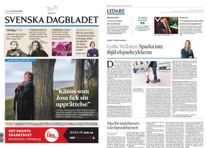 Svenska Dagbladet – 30 mars 2019