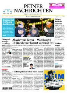 Peiner Nachrichten - 30. November 2017