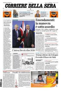 Corriere della Sera – 18 ottobre 2019