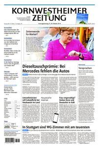 Kornwestheimer Zeitung - 27. Oktober 2018