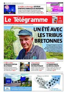 Le Télégramme Ouest Cornouaille – 13 juillet 2020