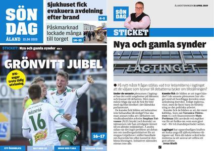 Ålandstidningen – 21 april 2019