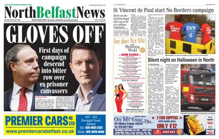 North Belfast News – November 09, 2019