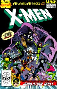 Uncanny X-Men Annual 13 1989 hybrid Minutemen