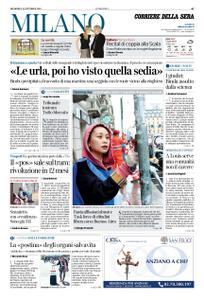 Corriere della Sera Milano – 20 ottobre 2019