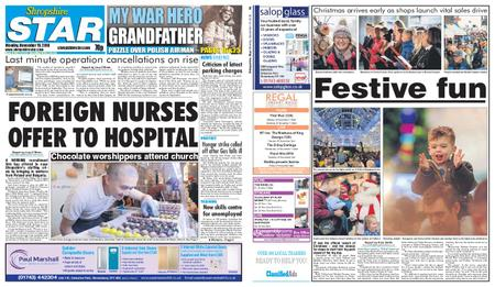 Shropshire Star Shrewsbury Edition – November 19, 2018