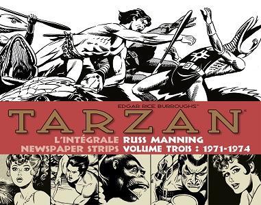 Tarzan - L'Intégrale Russ Manning - Tome 3 - 1971-1974
