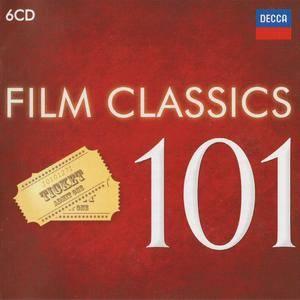 Various Artists - 101 Film Classics (2016) {6CD Box Set Decca 478 3676 rel 2012}