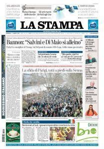 La Stampa Torino Provincia e Canavese - 11 Marzo 2018
