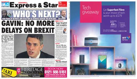 Express and Star Sandwell Edition – March 11, 2019