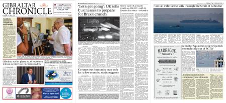 Gibraltar Chronicle – 14 July 2020