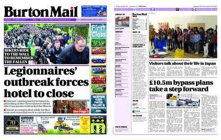 Burton Mail – October 09, 2017