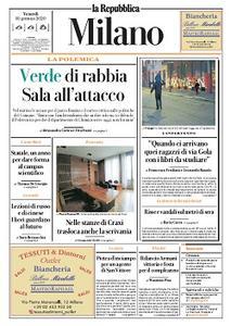 la Repubblica Milano - 10 Gennaio 2020