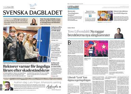Svenska Dagbladet – 12 mars 2019
