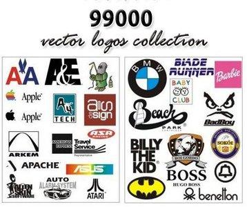 99000 Vector Logos Collection