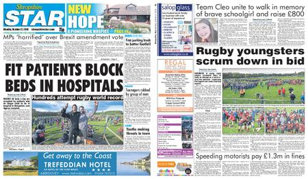 Shropshire Star Shrewsbury Edition – October 21, 2019