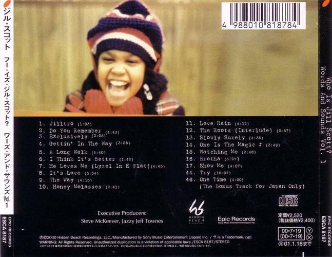 Jill Scott - Who Is Jill Scott: Words And Sounds Vol. 1 (2000) {Hidden Beach/Epic Japan} **[RE-UP]**