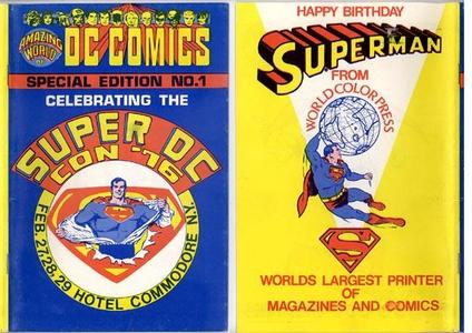 Fills!- Amazing World of DC Comics Special Edition 1976 Super DC Con