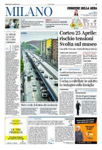 Corriere della Sera Milano – 24 aprile 2019
