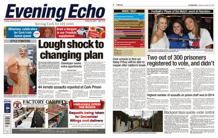 Evening Echo – October 30, 2018