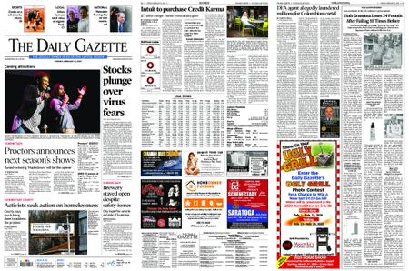 The Daily Gazette – February 25, 2020