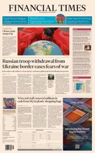 Financial Times Asia - April 23, 2021