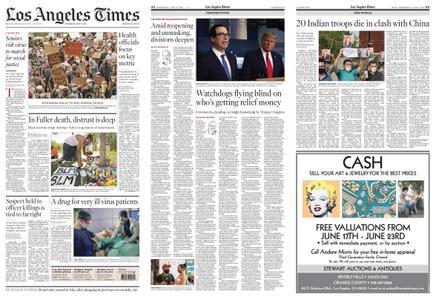 Los Angeles Times – June 17, 2020