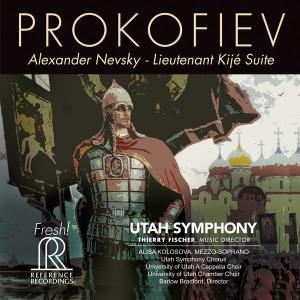 Utah Symphony Orchestra & Thierry Fischer - Prokofiev: Alexander Nevsky, Op. 78 & Lieutenant Kijé Suite, Op. 60 (2019) [24/192]