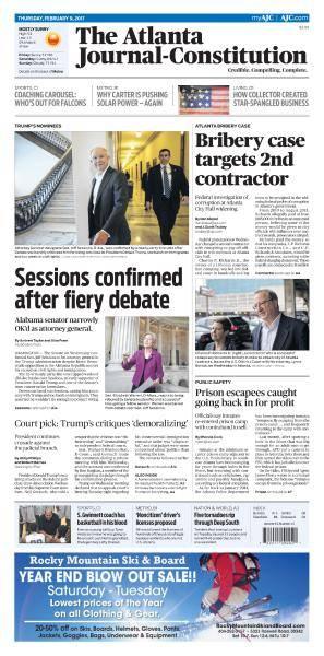 The Atlanta Journal-Constitution - February 9, 2017