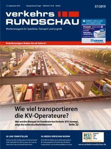 VerkehrsRundschau - 10. September 2019