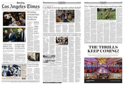 Los Angeles Times – August 29, 2021