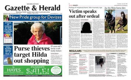 Gazette & Herald – June 24, 2021