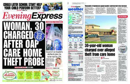 Evening Express – February 21, 2018