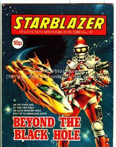 Starblazer 085 (1982) - beyond the black hole 0 (pdfrip